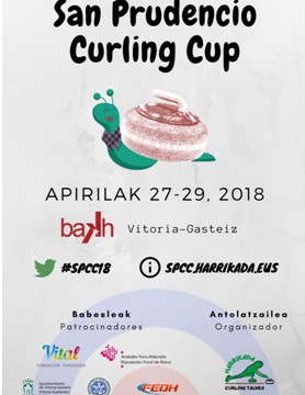 Curling Internacional en San Prudencio