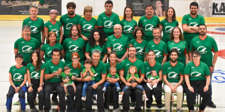 Tres equipos de Harrikada en el Campeonato de España